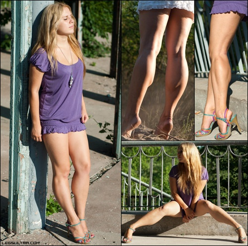 Ladies with thick calfs