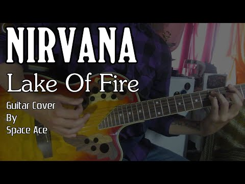On fire guitar cover