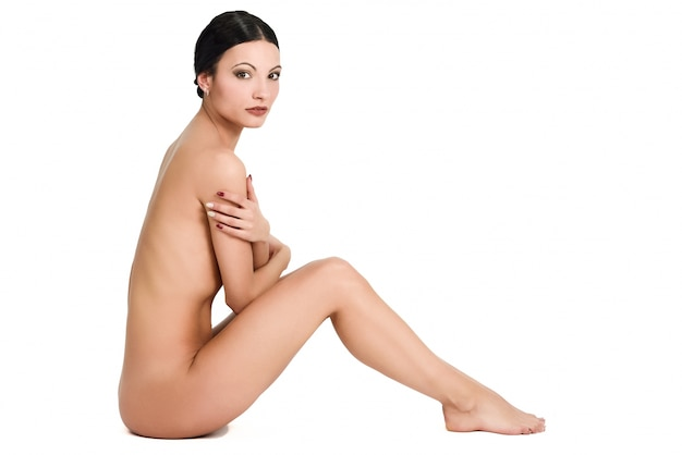 Done naked female picture background
