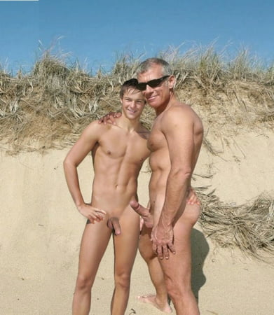 Son naked for daddy