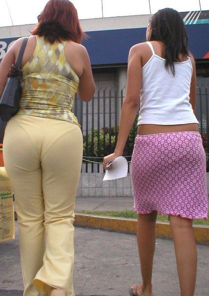 Panty line pictures