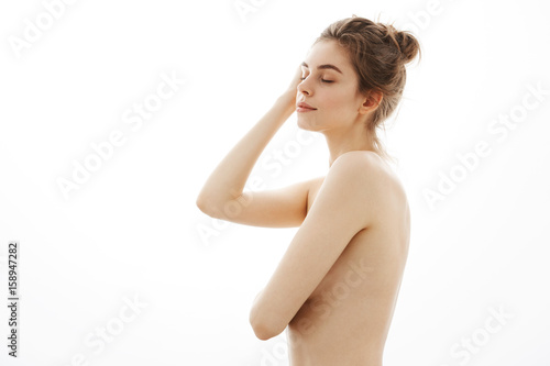 Young tender females nude